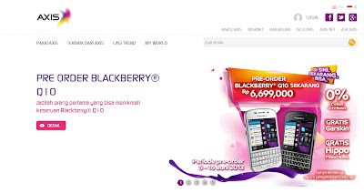 BlackBerry Q10 Axis
