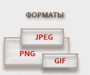 Форматы изображений для Интернета