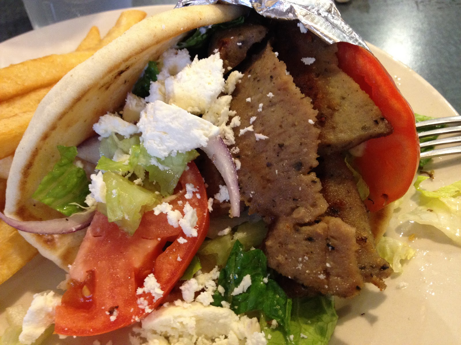 Lamb Gyro Look fast before i delete it,