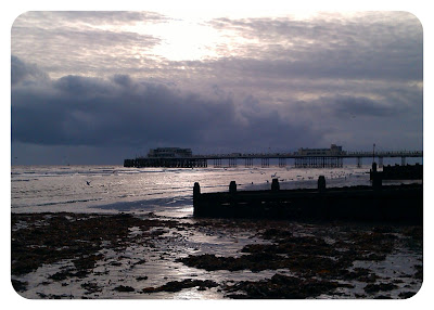 November sun over Worthing Pier