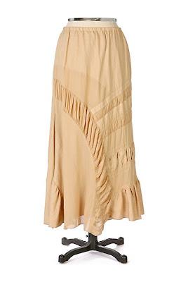 Anthropologie Staircase Skirt