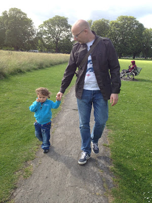 Day 183 of The 366 Project, my boys father and son
