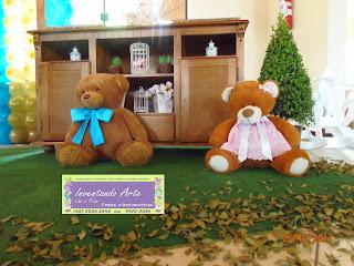 festa infantil provençal ursos