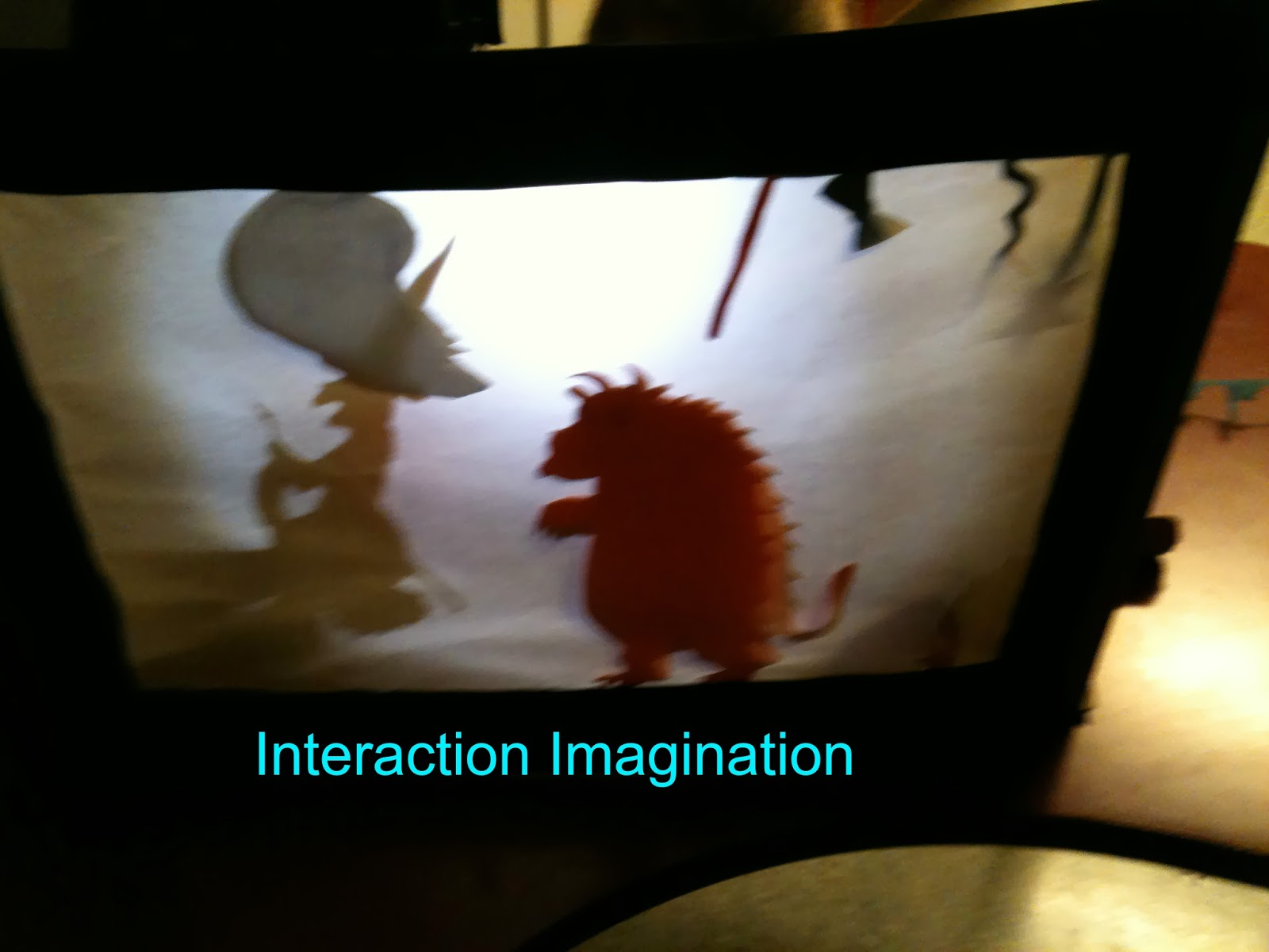 how to make a shadow theatre screen