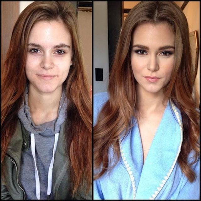artis film porno sebelum dan sesudah makeup
