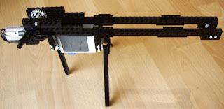 afbeelding van LEGO machine geweer