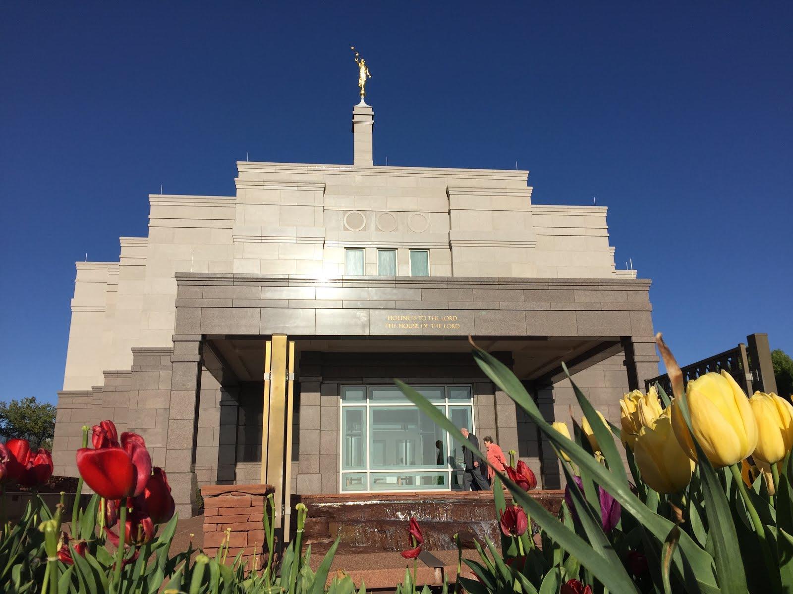 Snowflake Arizona Temple - Spring 2017