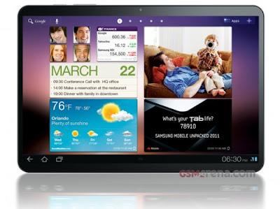 Podría ser anunciado hoy el Samsung Galaxy Tab 11.6