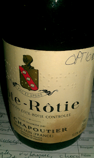 I was happy to pick this guy. Very good wine too.