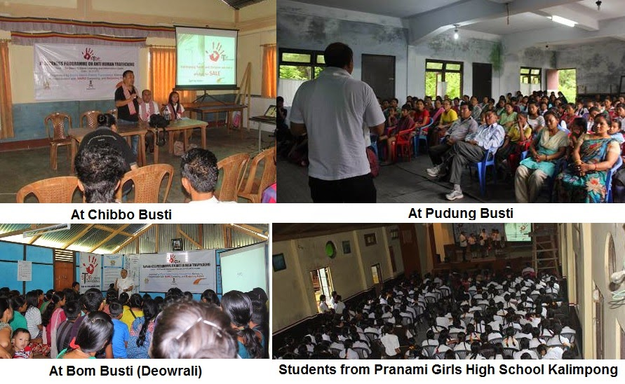 MARG conducts awareness programme on Human Trafficking in Kalimpong Villages
