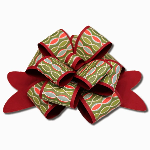 Bits Of Paper Layered Package Bow