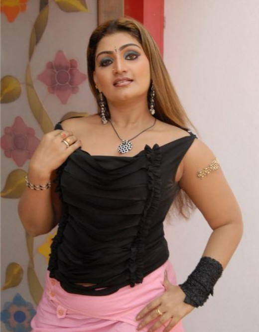 Tamil actress Babilona usually acted in movies as an item dancer and ...