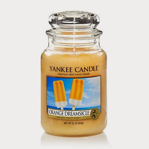Orange Dreamsicle Yankee Candle Feature Andy 39 S Yankees