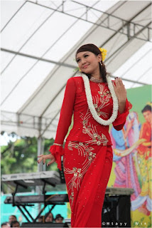 beautiful myanmar model