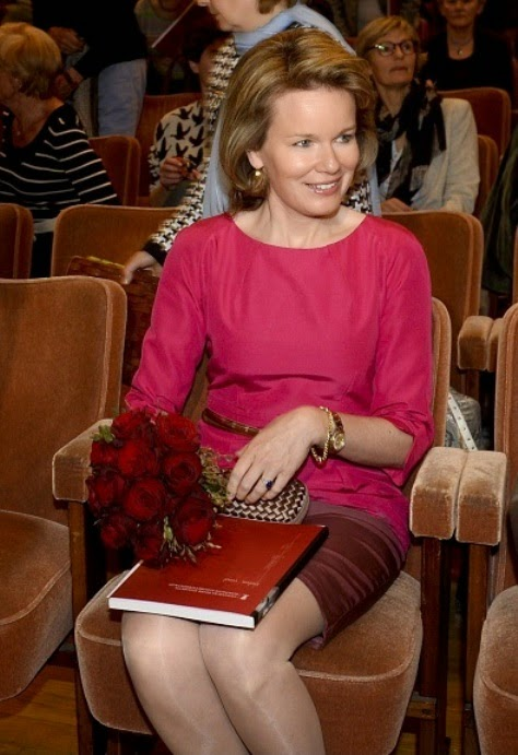 Queen Mathilde Attends First Session Of The Queen Elisabeth Violin Competition 2015