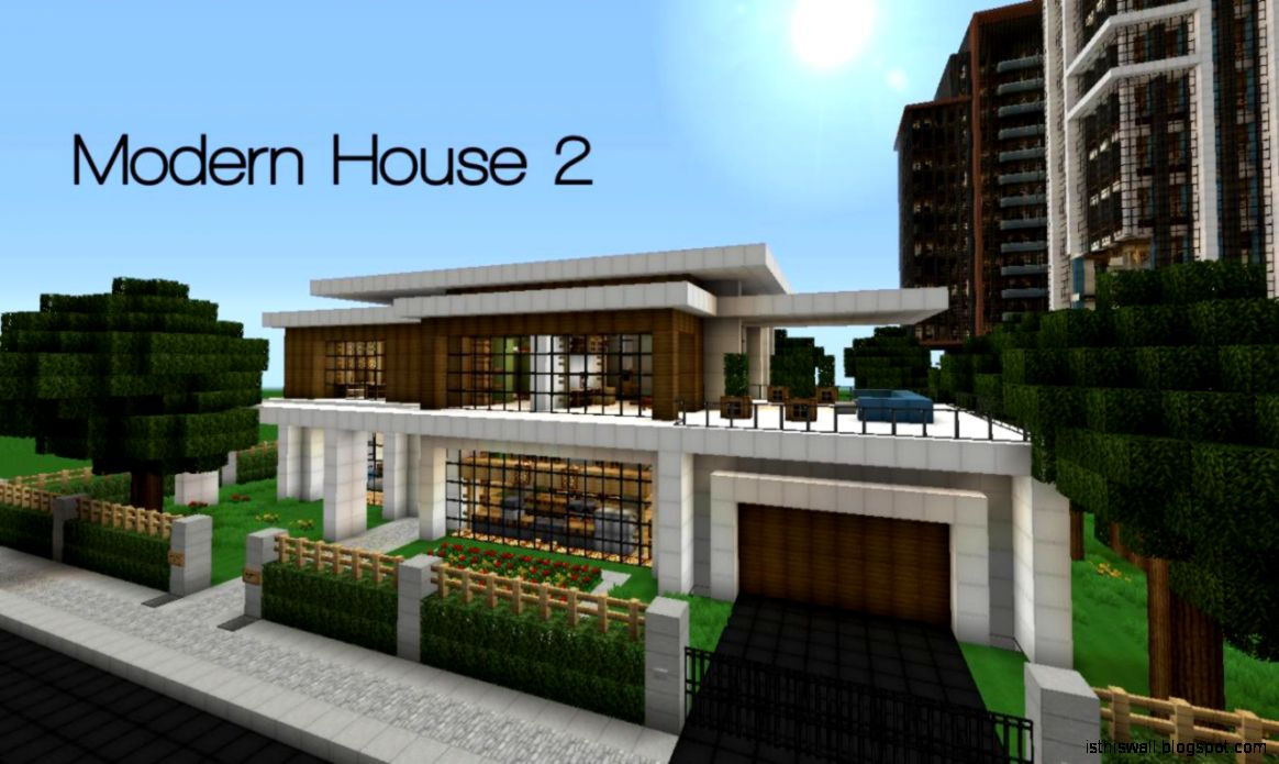 minecraft modern home design this wallpapers minecraft small modern house designs trend home design