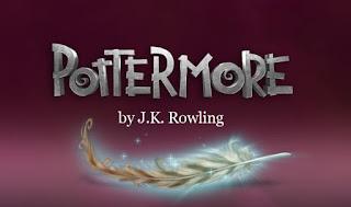 Il vecchio logo di Pottermore