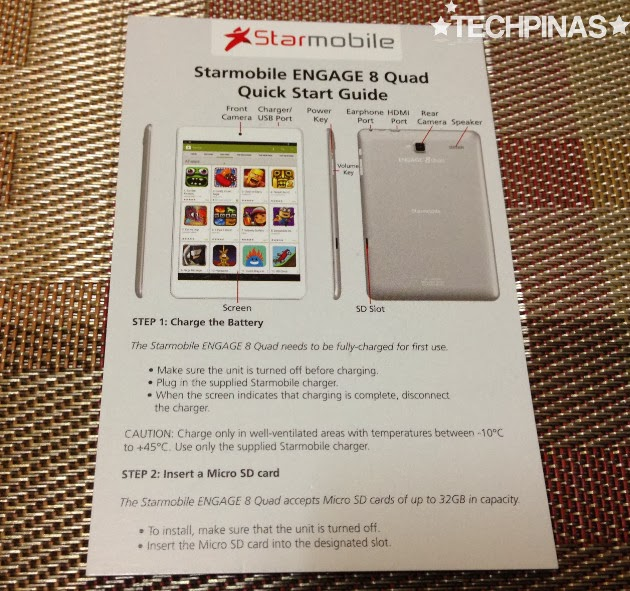 Starmobile Engage 8 Quad, Starmobile Quad Core Android Tablet, Starmobile