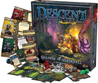 board game news Shadow of nerekhall descent expansion