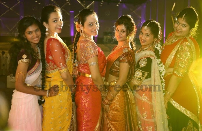Wedding Blouse Models For Silk Saris