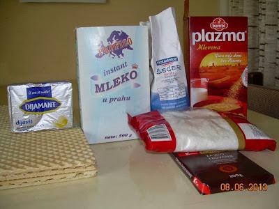 Recept: Rafaelo oblande (oblatne)
