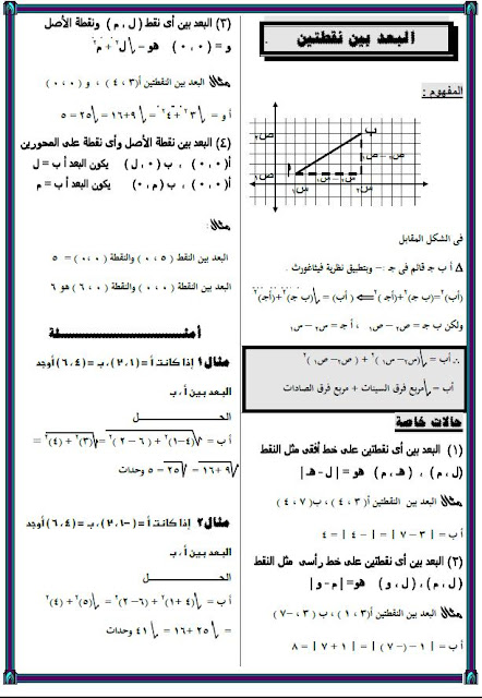 حصريا لطلاب الصف الاول / الثانى/ الثالث الاعدادى اجمل الملخصات من مصراوى22 165