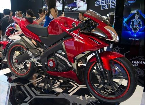 Mẫu V-ixion concept dạng sportbike do chính Yamaha Indonesia phát triển.