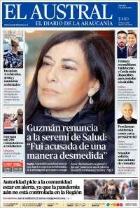 03/07/2020    CHILE  UNA  PRIMERA PÁGINA DE LA PRENSA