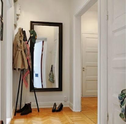 Ideas para decorar pasillos o corredores for Espejos para pasillos
