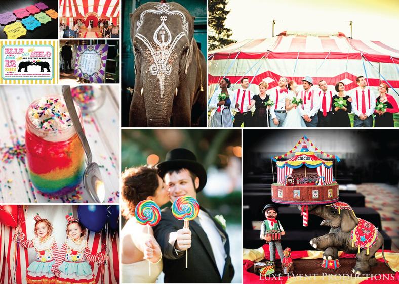 Matrimonio Tema Circo : Matrimonio e un tocco di classe temas para una