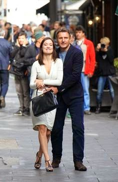 Liam Neeson Olivia Wilde randommusings.filminspector.com