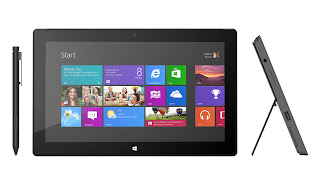 Surface Microsoft 8 Pro tablet-laptop hybrid