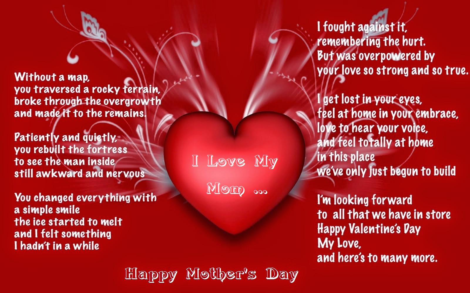 Happy Mothers Day poem 2014