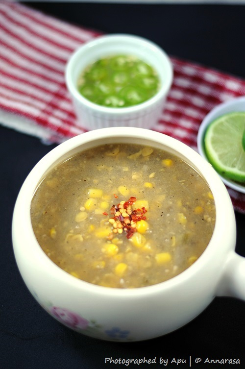 Chinese Sweet Corn Soup | Indo Chinese Kitchen