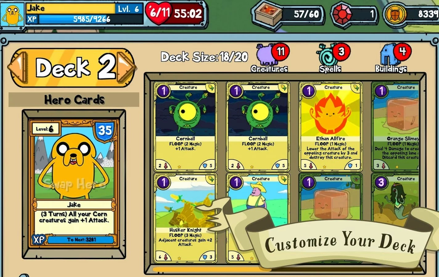 Card Wars - Adventure Time v1.4.0 Mod