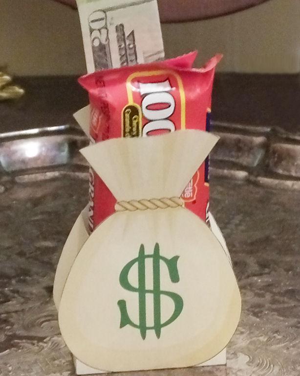 Money bag gift box