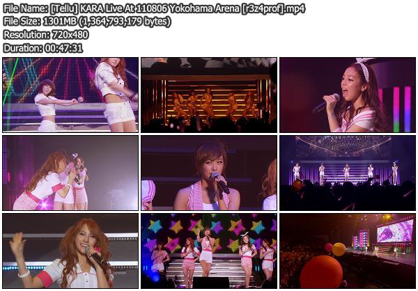 [Showcase] KARA   Yokohama Arena 110806