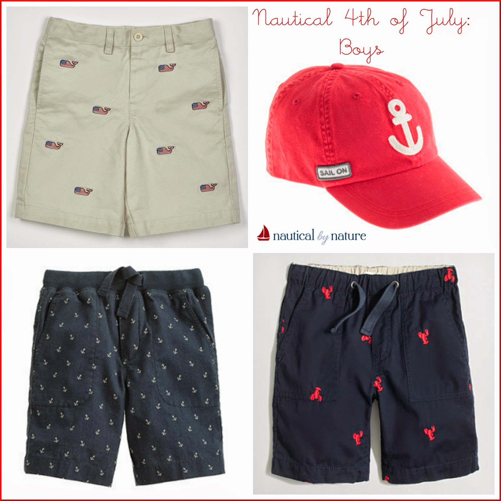 Nautical by Nature | 4th of July: Boys