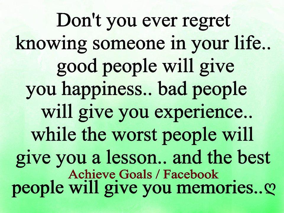 Ever Regret Don't You Ever Regret Knowing