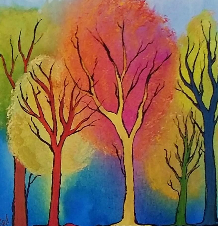 Spontaneous Trees