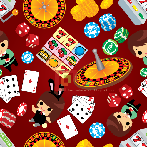 Casino vector graphics