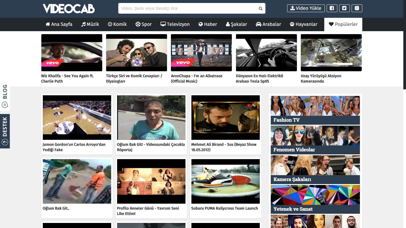 VideoCAB Blogger Video Teması