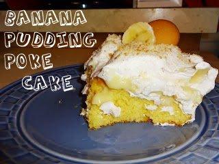 Banana Pudding Poke Cake Tasty