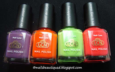 LCN Colour Me Up Collection