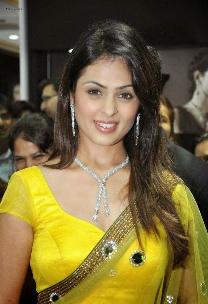 anjana sukhani hot latest navel hd pics yellow saree