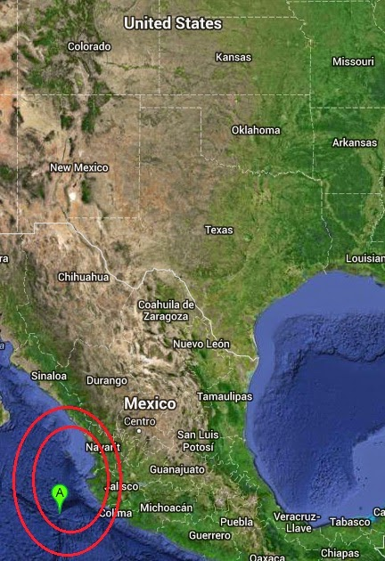 Magnitude 5.9 Earthquake of Tomatlan, Mexico 2014-09-06