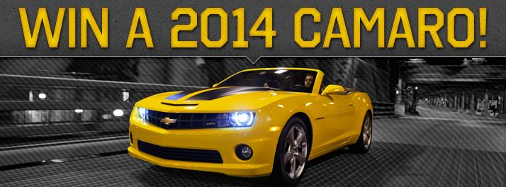 Win a Camaro from Graff - Bay City!