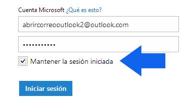 Como Mantener tu sesion iniciada en Outlook