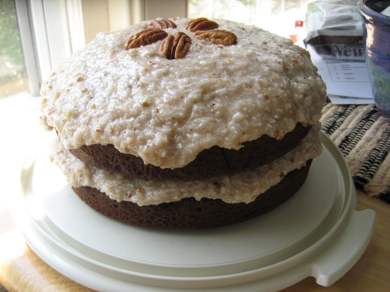 ... Gingerlemongirl.com: Gluten Free Vegan German Chocolate Cake Recipe