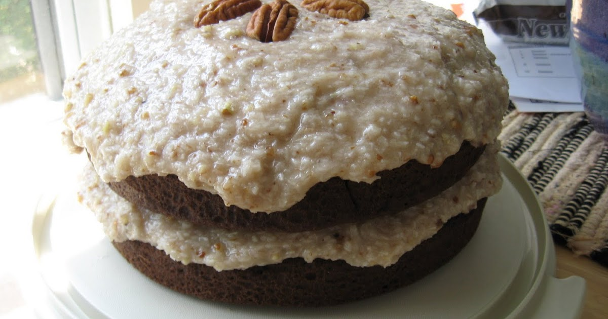 Vegangerman Chocolate Cake Frosting